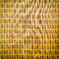Gold stripes and imaginative paintings for art texture or web design web background Royalty Free Stock Image