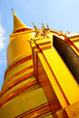 Gold stupa Stock Photos