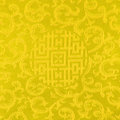 Gold thai fabric patter background Royalty Free Stock Images