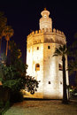 The gold tower torre del oro seville Stock Image