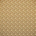 Gold tread plate Stock Image