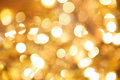 Gold twinkled background - christmas Stock Images