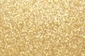 Gold twinkling light background Royalty Free Stock Photo