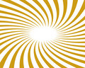 Gold Twirled Vector Background Ray Royalty Free Stock Photos