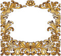 Gold vintage frame Stock Photos
