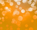 Gold Winter Bokeh Background Royalty Free Stock Photo