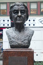 Golda meir a bust of the former israeli prime minister in new york city Royalty Free Stock Photos