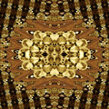 Golden Abstract Texture Patterns Background Royalty Free Stock Photo