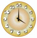 Golden Age Comes With Golden World Clock