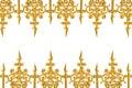 Golden alloy pattern Royalty Free Stock Photo
