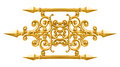 Golden alloy pattern Royalty Free Stock Photo