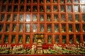 Golden altar in Buddhist temple