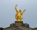 Golden angel Royalty Free Stock Photo