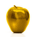Golden Apple Royalty Free Stock Photo