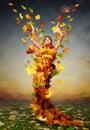 Picture : Golden Autumn healthy healthy