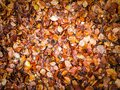 Golden autumnal leaves as nature background Royalty Free Stock Photo