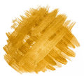 Golden background of intersecting brush strokes