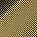 Golden background with lines. Vector.