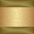Golden background textured vector illustration Royalty Free Stock Photo