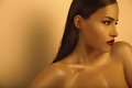 Golden beauty Royalty Free Stock Photo