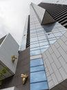 Golden Bee skyscraper Eureka Royalty Free Stock Photo