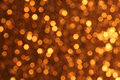 Golden Bokeh  Background Royalty Free Stock Photo