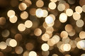 Golden bokeh background Stock Images