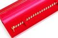 Golden bracelet and Gem Royalty Free Stock Photo