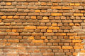 Golden Brick Wall Stock Photos