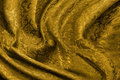 Golden brocade fabric Stock Photo