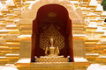 Golden Budda Royalty Free Stock Images