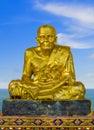 Golden buddha Royalty Free Stock Photo