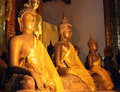Golden Buddha Stock Photography