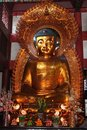 Golden buddha image Royalty Free Stock Images
