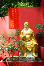Golden buddha shrine Royalty Free Stock Images
