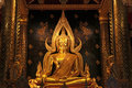 Golden buddha statue image Stock Photo