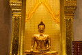 Golden buddha statue made ​​of gold buddha statue made ​​of gold world s largest Stock Photo
