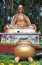 Golden buddha statue in thailand Royalty Free Stock Image