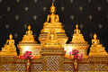 (The golden buddha , thailand) Stock Photo