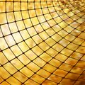 Golden business mosaic. EPS 8 Royalty Free Stock Photos