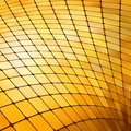 Golden business mosaic. EPS 8 Stock Photography