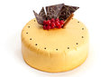 Golden Cake with Chocolate