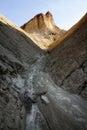 Golden canyon morning in death valley national park california usa Stock Photos