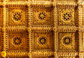 Golden Ceiling Ca doro, Venice, Italy Royalty Free Stock Photo