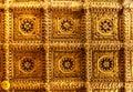 Golden Ceiling Ca doro, Venice, Italy Royalty Free Stock Photo