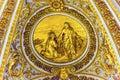 Golden Christ Peter Saint Peter`s Basilica Vatican Rome Italy Royalty Free Stock Photo