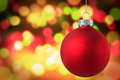 Golden Christmas light Scene Background Royalty Free Stock Photo