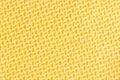 Golden color silk cloth texture close up Royalty Free Stock Photos