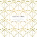 Golden color triangle poly geometric shapes pattern