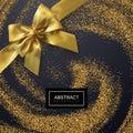 Golden Confetti Glitters.